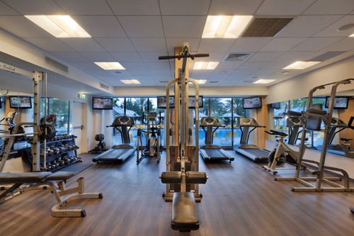 Fitness Room - Lot Spa Hotel