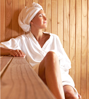 Dry Sauna - Lot Spa Hotel